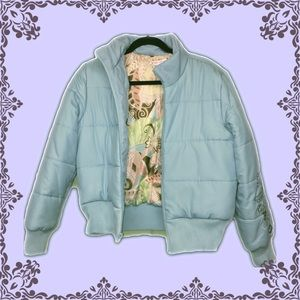 🦋Quilted Bomber Style Jacket w/ Embroidery 💕